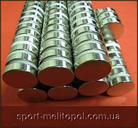 Неодимовый магнит 25Х2 мм сила 3.2 кг