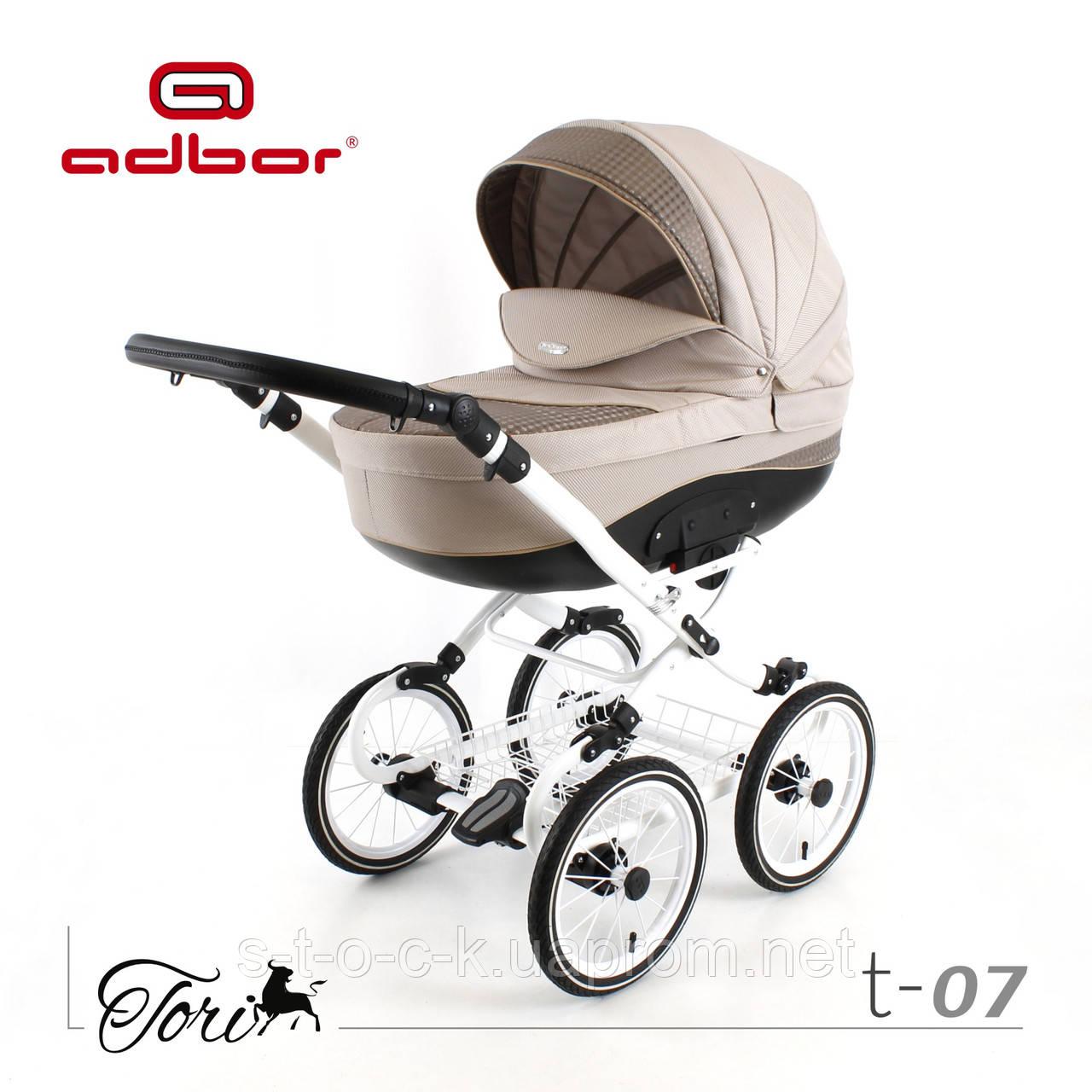 "Коляска ADBOR TORI 3w1  Classic 14"" колёса.Новинка 2017  года"