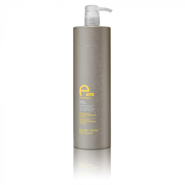 Eva Professional E-Line Repair Shampoo - Шампунь восстанавливающий для сухих и поврежденных волос, 1000 мл