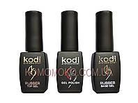 Набор для гель лака Коди 3в1: гель лак, база и топ Kodi Professional