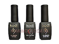 Набор для гель лака Коди 3в1: гель лак, база и топ Kodi Professional, фото 1