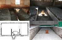 Строительство свинарников четырехрядная система с кормлением по внешнему периметру