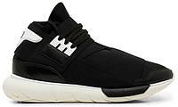 Кроссовки Adidas Y-3 Qasa High Black White