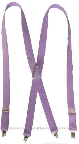 Подтяжки женские для брюк однотонные LM638