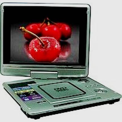 """Переносной портативный DVD плеер Opera OP-1480D, 11"""", PAL/NTSC/SECAM, фото 2"""