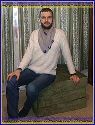 """Пуфик кровать в сложенном виде - удобное кресло даже для человека с ростом 184 см. Складная мебель от компании """"UkrBest""""."""