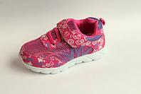 Детские текстильные кроссовки  оптом от фирмы Y.Top (рр. с 27 по 32) 8 пар