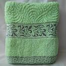 Качественные банные полотенца с красивой отделкой, фото 4