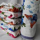 Красивые лицевые полотенца, с цветочным принтом, фото 3