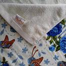 Красивые лицевые полотенца, с цветочным принтом, фото 4
