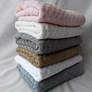 Махровые банные полотенца пастельных цветов, фото 2