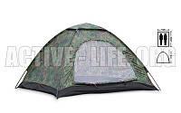 Палатка универсальная, 2-х местная(рр 2х1,5х1,1м, PL, хаки)для рыбалки,военная