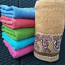 Яркие банные полотенца с цветочным принтом, фото 2