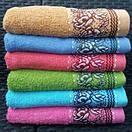 Яркие банные полотенца с цветочным принтом, фото 3