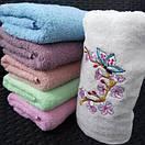 Махровые лицевые полотенца с принтом Сакура, фото 3
