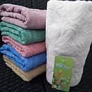 Качественные лицевые махровые полотенца, пастельных цветов, фото 3