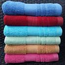 Однотонные махровые банные полотенца ярких цветов, фото 2