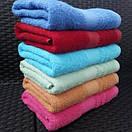 Однотонные махровые банные полотенца ярких цветов, фото 3