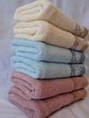 Махровые банные полотенца пастельных цветов, фото 3