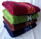 Мягкие лицевые полотенца с принтом ромбики, фото 3