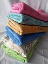Детские цветные банные полотенца с мишками, фото 2