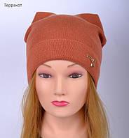 Оригинальная демисезонная шапка для подростков девочек, фото 1