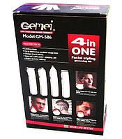 4в1 Машинка для стрижки волос, бритва, триммер Gemei Gm-586