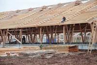 Строительство помещений для  Цеха выращивания ремсвинок,  ремонтных свинок  ремонтного молодняка