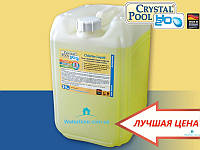Жидкий хлор Crystal Pool Chlorine Liquid 25кг