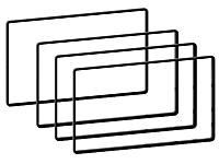 Набор кантиков ACV 271000-13 для 2DIN