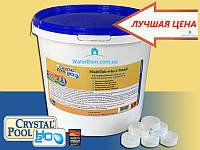 Многофункциональные таблетки по 20 грамм Crystal Pool MultiTab 4-in-1 Small 1 кг