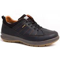 Кроссовки-туфли мужские GriSrpot (Red Rock) D1127 темно-коричневые