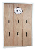Настенная ключница 20-30-3 см.