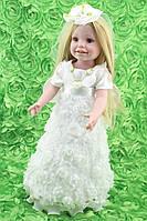 Кукла Бритни, реборн, 45 см, полностью из винила, в подарочной упаковке