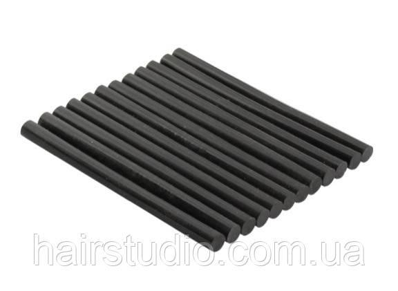 Кератиновые палочки для клеевого пистолета черные 180mm x 11mm