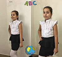 Блузка в школу на девочку 631 (09), фото 1