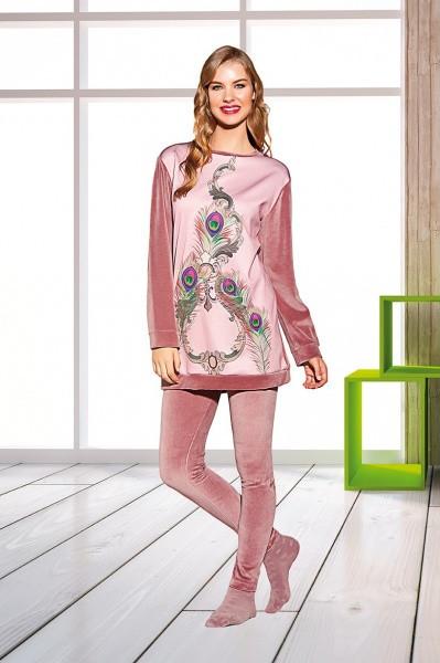 Костюм трикотажный женский пижама турция