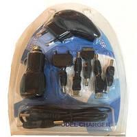 Автомобильная зарядка  для мобилок и др. устройств 12V/24/220V 8 in 1 FEIKE  набор