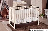 Кроватка Twins Pinocchio маятник/ящик
