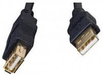 Кабель - удлинитель USB 2.0 - 1.8 м Cablеxpert CCP-USB2-AMAF-6, премиум качество USB 2.0 A-папа/A-ма