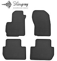 Коврики в автомобиль Mitsubishi Outlander  2012- Комплект из 4-х ковриков Черный в салон. Доставка по всей Украине. Оплата при получении