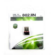 Мини USB WIFI сетевой адаптер 150 Mbit Wi-Fi, фото 3