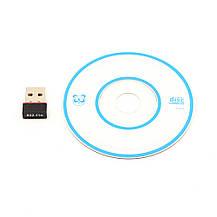 Мини USB WIFI сетевой адаптер 150 Mbit Wi-Fi, фото 2