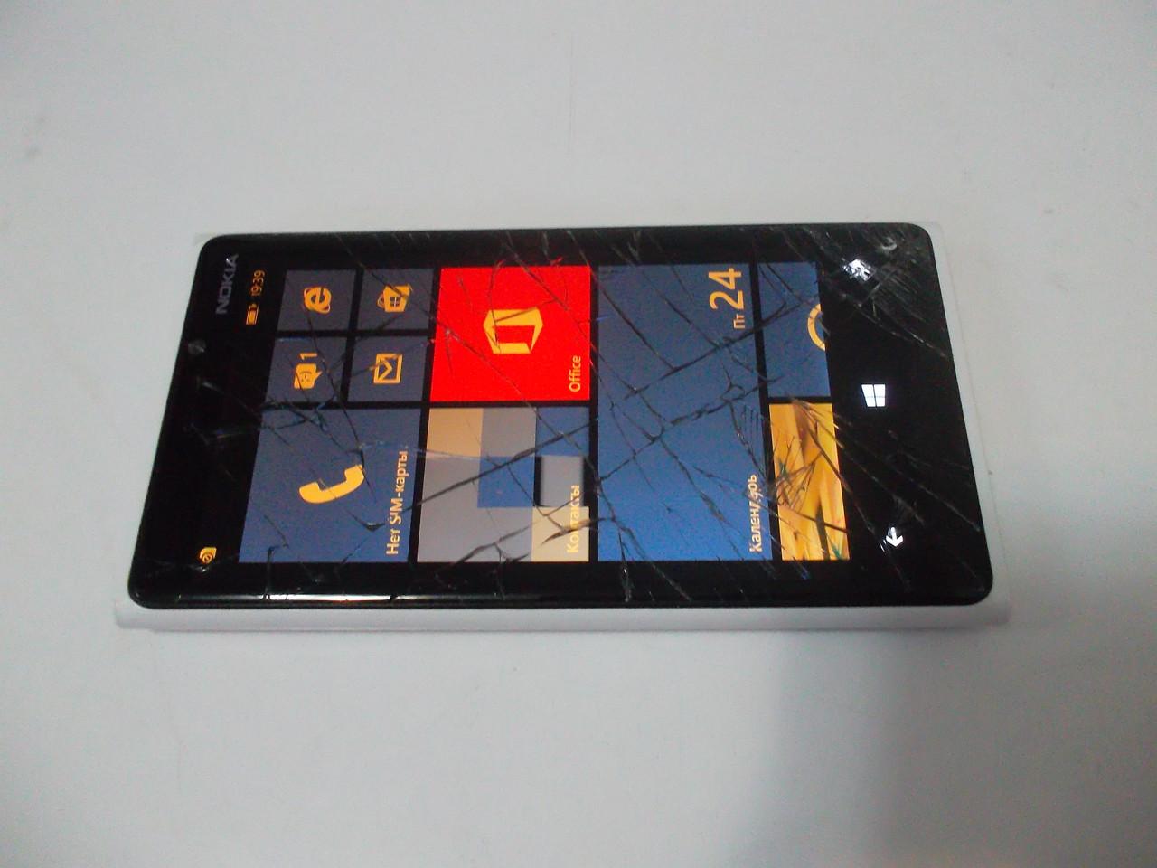Nokia Lumia 920 White №2344 на запчасти