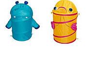 Корзина для игрушек GFP-093108 24шт товар 4580 2 вида микс в сумке со змейкой 50см