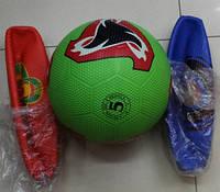 Мяч футбольный BT-FB-0148 резиновый гольф 380г 3цв.ш.к./50/(BT-FB-0148)