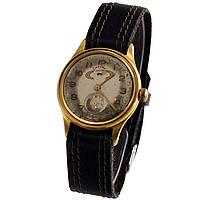 Позолоченные советские часы Сатурн с днем недели пылевлагонепроницаемые  -ソ腕時計