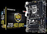 Мат. плата Gigabyte GA-Z170-HD3 DDR3 Socket 1151