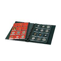 Альбомы для монет, комплектующие к папкам-переплетам