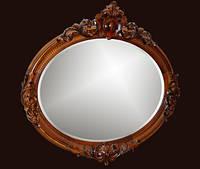Овальное зеркало в ванную №24